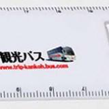 ルーペ付き15cm定規の名入れ写真