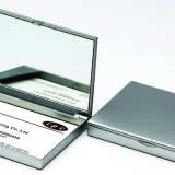ネームカードケース・ミラー付き(ABS)の商品写真