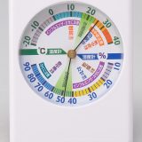 健康管理!温湿度計の正面画像