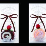 ロールケーキタオル(2枚組) メイン