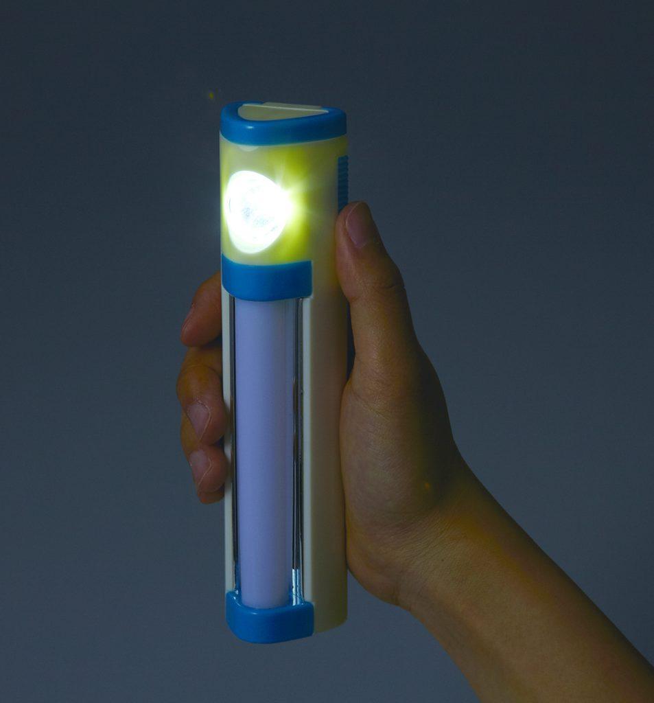 LEDハンディトーチ&ランタン 使用例3