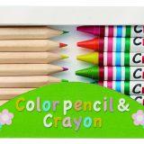 クレヨン&色鉛筆セット  メイン