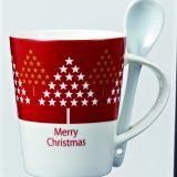 クリスマス・スプーン付マグカップ