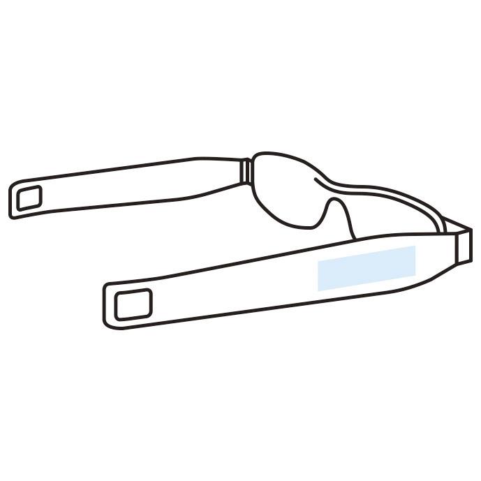 携帯便利 メガネ型ルーペ