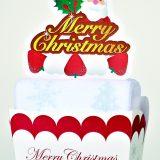 クリスマス・ケーキタオル