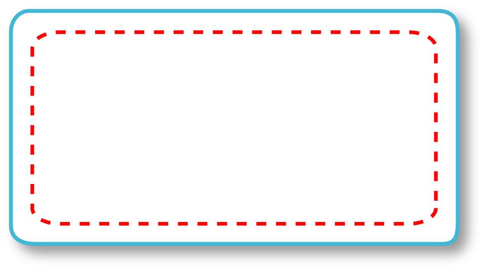 マグネットステッカー 名刺型【M05】名入れ位置