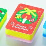 クリスマス・キッチンスポンジ(3コ入)